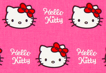 Hello Kitty star della Milano Fashion Week